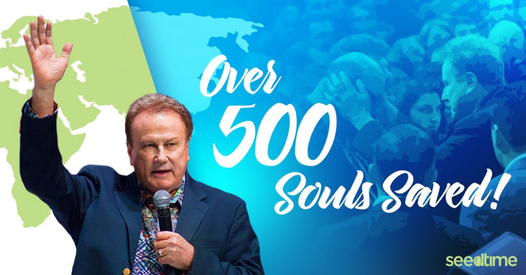 Over 500 Souls Saved! 2016 European Missions Update